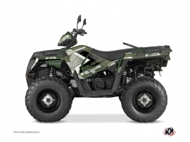 Polaris 570 Sportsman Touring ATV VINTAGE POLARIS Graphic kit Green