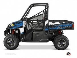 Polaris Ranger 900 UTV ACTION Graphic kit Blue