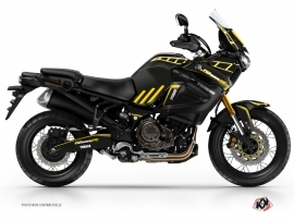 Graphic Kit Street Bike Adventure Yamaha XTZ 1200 Super Tenere Black Yellow