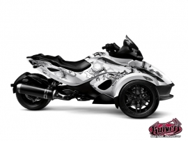 Graphic Kit Aero Can Am Spyder RS Grey