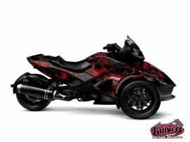 Graphic Kit Aero Can Am Spyder RS Black