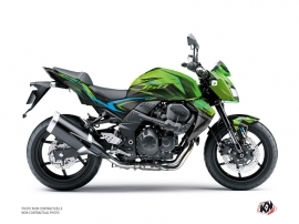 Kawasaki Z 750 Street Bike AIRLINE Graphic kit Green Blue