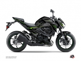 Kawasaki Z 800 Street Bike AIRLINE Graphic kit Black Green