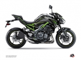 Kawasaki Z 900 Street Bike AIRLINE Graphic kit Black Green