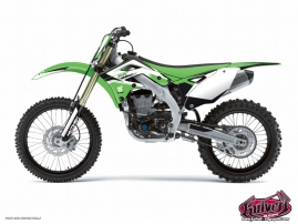 Kawasaki 250 KXF Dirt Bike Assault Graphic Kit