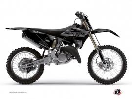 Yamaha 125 YZ Dirt Bike BLACK MATTE Graphic kit Black