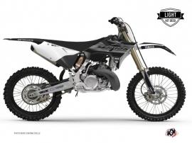 Kit Deco Dirt Bike Black Matte Yamaha 125 YZ RTECH Revolution Black LIGHT
