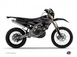 Graphic Kit Dirt Bike Black Matte Yamaha 450 WRF Black