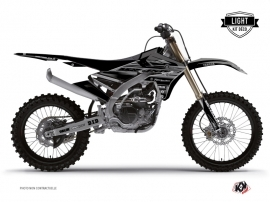 Yamaha 450 YZF Dirt Bike BLACK MATTE Graphic kit Black LIGHT
