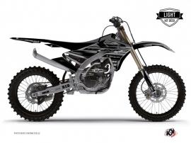 Graphic Kit Dirt Bike Black Matte Yamaha 450 YZF Black LIGHT
