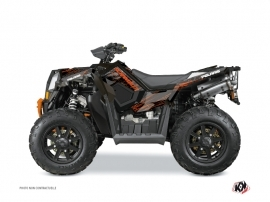Polaris Scrambler 850-1000 XP ATV BLADE Graphic kit Orange