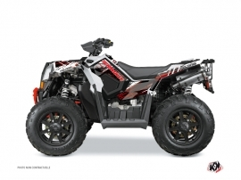 Polaris Scrambler 850-1000 XP ATV BLADE Graphic kit Red