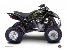 Kymco 250-300 MAXXER ATV Camo Graphic Kit Black Green