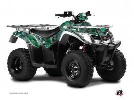 Kymco 250-300 MXU ATV Camo Graphic Kit Green