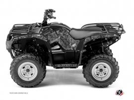 Graphic Kit ATV Camo Yamaha 300 Grizzly Grey