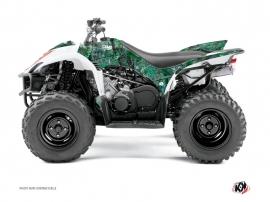 Yamaha 350-450 Wolverine ATV CAMO Graphic kit Green