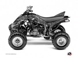 Graphic Kit ATV Camo Yamaha 350 Raptor Grey