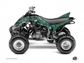Graphic Kit ATV Camo Yamaha 350 Raptor Green
