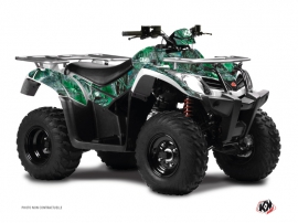 Graphic Kit ATV Camo Kymco 400 MXU Green