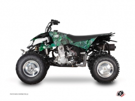 Polaris Outlaw 450 ATV CAMO Graphic kit Green