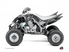 Graphic Kit ATV Camo Yamaha 660 Raptor Grey