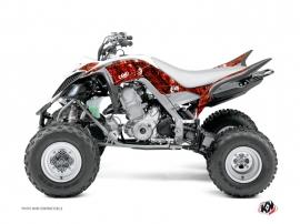 Graphic Kit ATV Camo Yamaha 660 Raptor Red