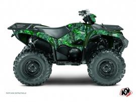 Yamaha 700-708 Grizzly ATV CAMO Graphic kit Green