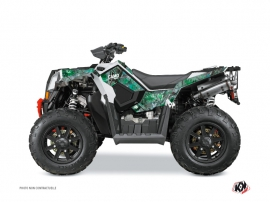 Polaris Scrambler 850-1000 XP ATV CAMO Graphic kit Green