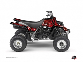 Graphic Kit ATV Camo Yamaha Banshee Red