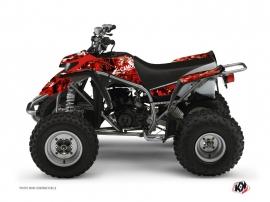 Graphic Kit ATV Camo Yamaha Blaster Red