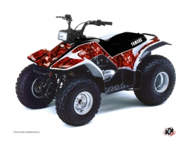 Graphic Kit ATV Camo Yamaha Breeze Red