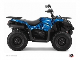 CF MOTO CFORCE 450 S ATV CAMO Graphic kit Blue