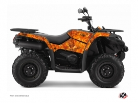 Graphic Kit ATV Camo CF Moto CFORCE 520 S Orange