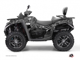 Graphic Kit ATV Camo CF Moto CFORCE 800 S Grey