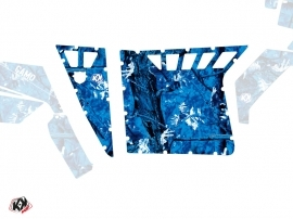 Graphic Kit Doors Suicide Pro Armor Camo UTV Polaris RZR 570/800/900 2008-2014 Blue