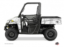 Polaris Ranger 900 UTV CAMO Graphic kit White
