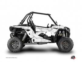 Graphic Kit UTV Camo Polaris RZR 1000 Turbo White