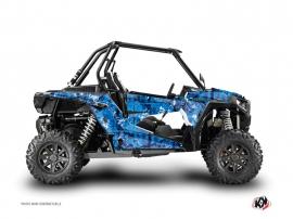 Graphic Kit UTV Camo Polaris RZR 1000 Turbo Blue