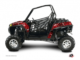 Graphic Kit UTV Camo Polaris RZR 800 Red