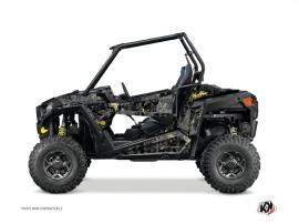 Polaris RZR 900 UTV Camo Graphic Kit Black Yellow
