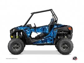 Polaris RZR 900 S UTV Camo Graphic Kit Blue