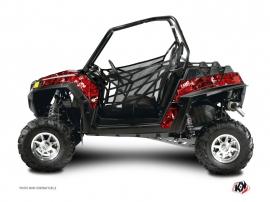 Graphic Kit UTV Camo Polaris RZR 900 XP Red