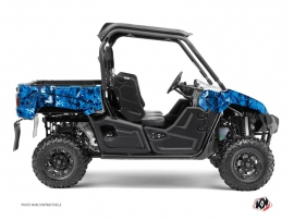 Graphic Kit UTV Camo Yamaha Viking Blue