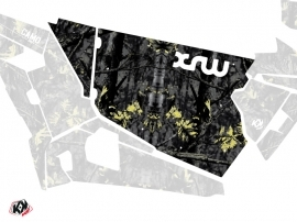 Graphic Kit Doors Standard XRW Camo UTV Polaris RZR 900S/1000/Turbo 2015-2017 Black Yellow