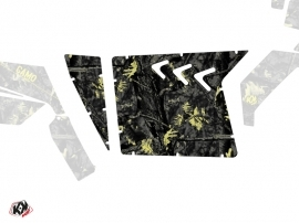 Graphic Kit Doors Suicide XRW Camo UTV Polaris RZR 570/800/900 2008-2014 Black Yellow