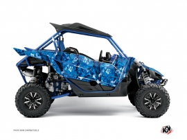 Yamaha YXZ 1000 R UTV CAMO Graphic kit Blue