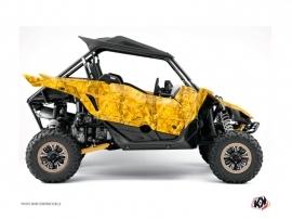 Yamaha YXZ 1000 R UTV CAMO Graphic kit Yellow