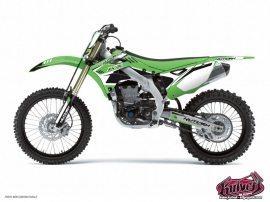 Kawasaki 250 KX Dirt Bike CHRONO Graphic kit Black