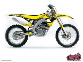 Suzuki 250 RMZ Dirt Bike CHRONO Graphic kit Black