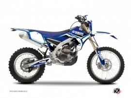 Yamaha 450 WRF Dirt Bike CONCEPT Graphic kit Blue